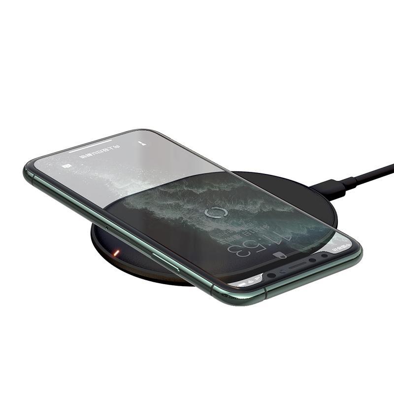 Марка Аутентичные 15W Ци Беспроводное зарядное устройство для iPhone 11 Pro X XS MAX XR 8 Plus Быстрая зарядка для Airpods Pro Samsung S9 S10 Huawei P30 Pro