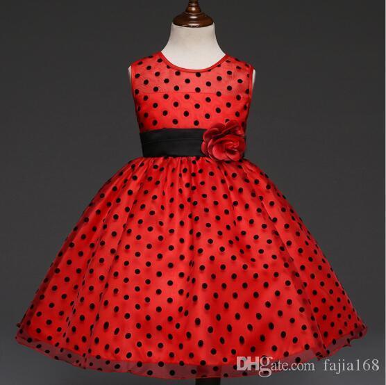 Новая лучшая роза принцесса юбка платья многоточия детская производительность продажи бренда Внешнеторговые девушки платье прямой продажи