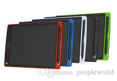 LCD 8.5 بوصة الكتابة اللوحي بقيادة الكتابة المجلس سبورة الكتابة اليدوية وسادات بلا أوراق المفكرة لوح مذكرة مع ترقية القلم DHL