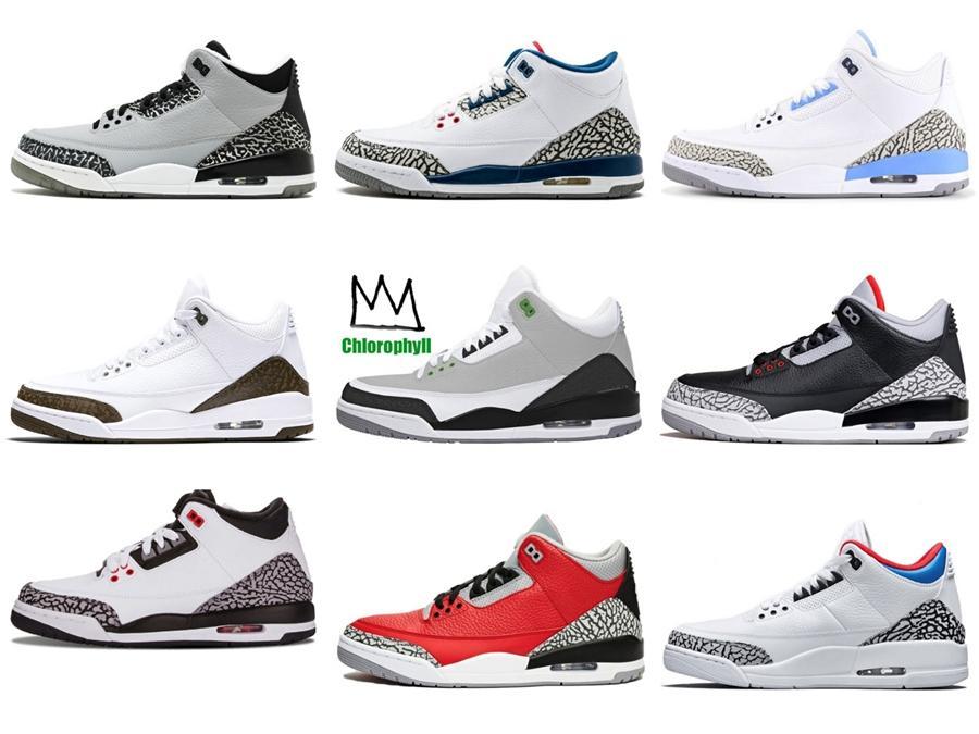 Air pur 3 argent 308497-100 3S Iv Kicks White Men Basketball Chaussures de sport Chaussures de sport Bonne Formateurs qualité avec la boîte originale # 394