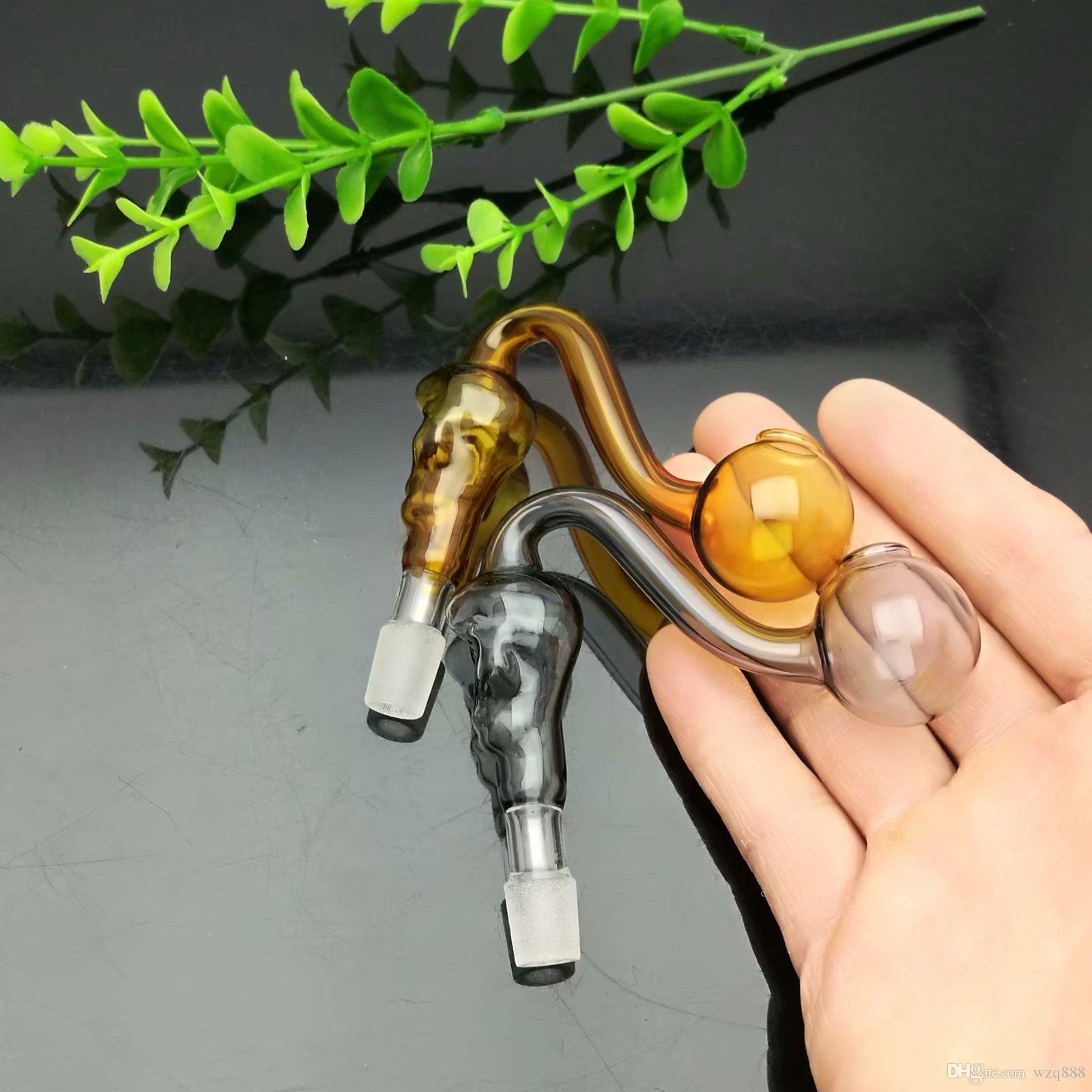 Coloured Skull Glass Burner Wholesale Bongs Oil Burner Pipes Water Pipes Glass Pipe Oil Rigs Smoking Free Shipping
