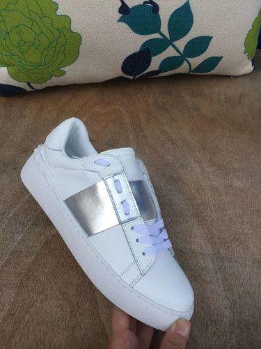 Großhandel All Black Lady Comfort Casual Dress Schuh Sport Sneaker Herren Casual Lederschuhe Valentine Frauen Freizeit Walking Trainer Lowtop Sneakers
