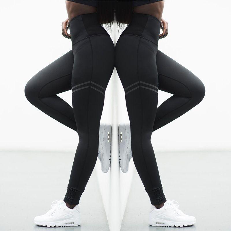 2e449b318d1c 2019 Activewear High Waist Fitness Leggings Women Pants Fashion ...