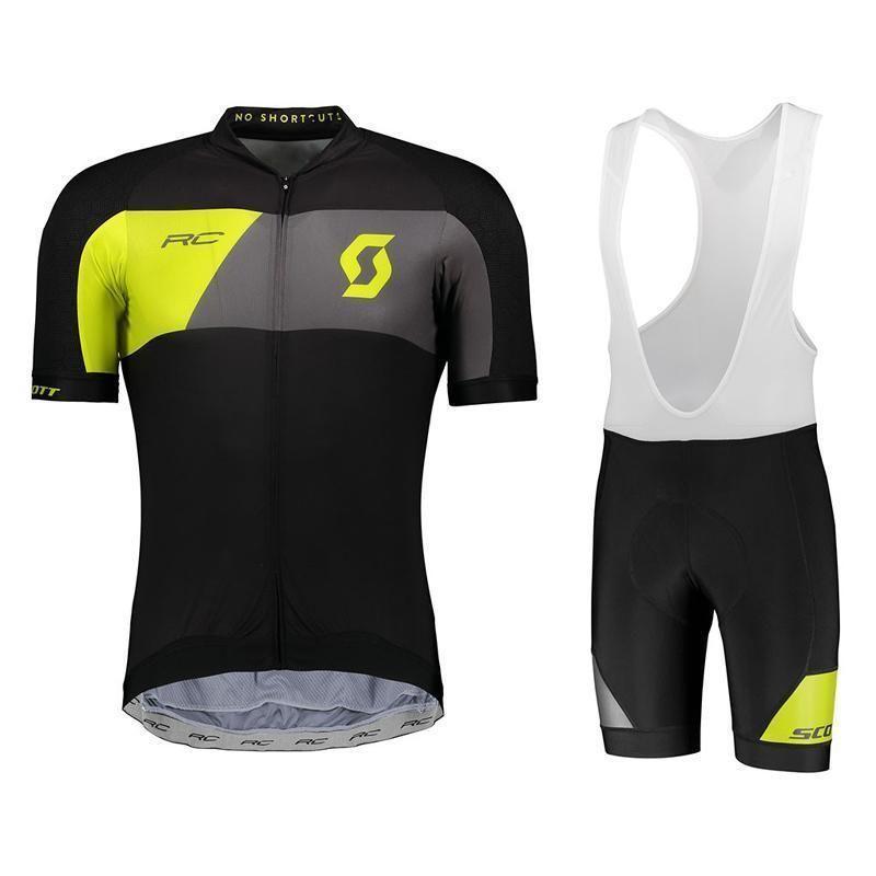 2020 Scott Erkekler Bisiklet Jersey Bisiklet Kısa Kollu Aşınma Mountaion Bisiklet Giyim Tur De France Nefes Mtb Döngüsü Giyim Ropa Ciclismo
