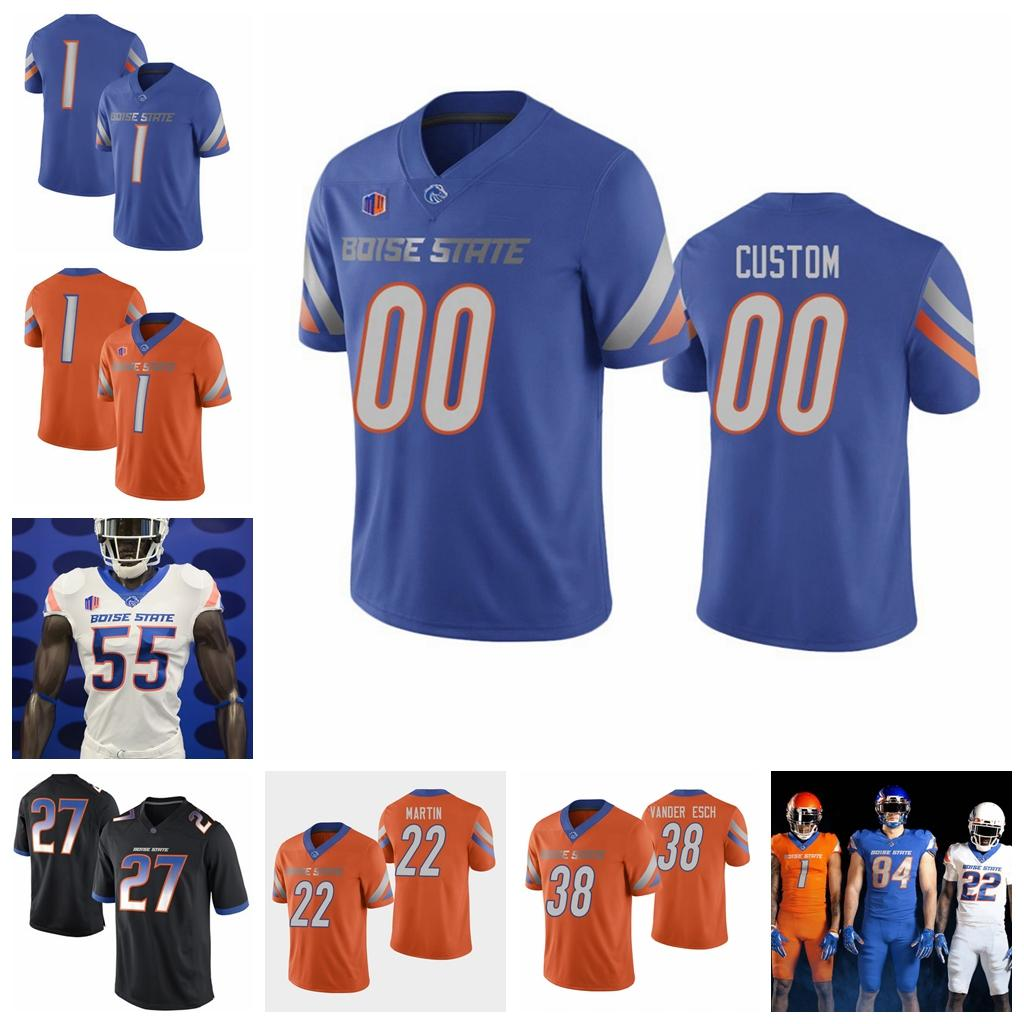 Brett Rypien Boise State Broncos Football Jersey - Royal