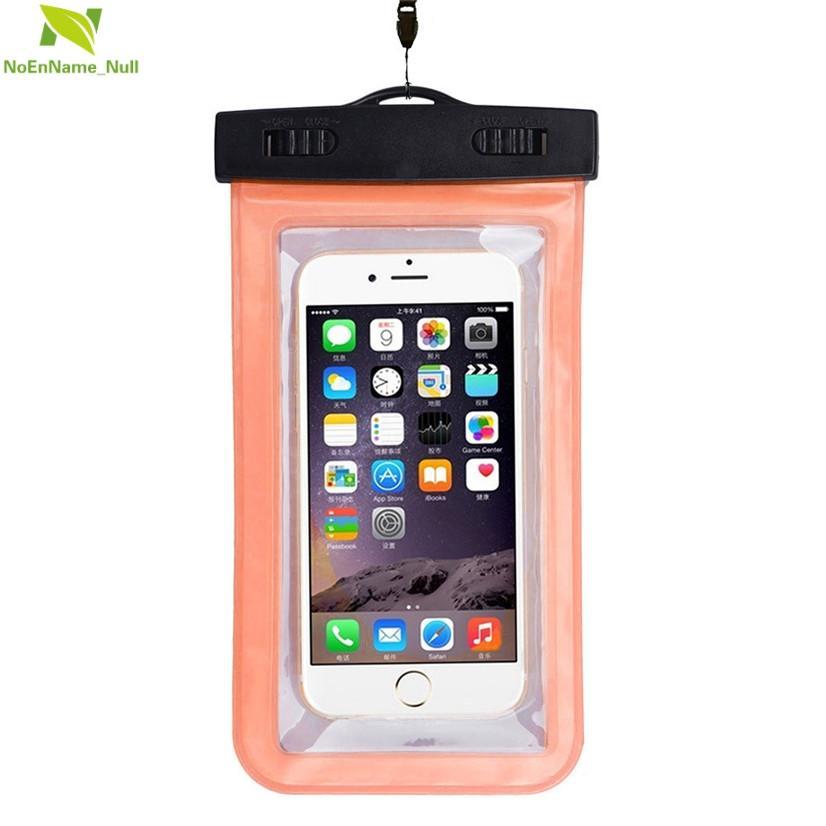 Bolsa impermeable bolsa de teléfonos celulares portátiles FishSunDay universal cómodo de usar Útil ligera caída envío de la gota Aug11