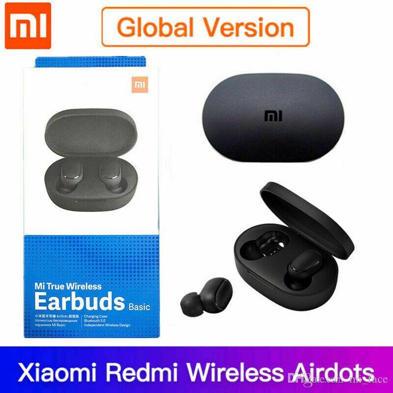 Xiaomi Redmi Airdots TWS drahtlose Bluetooth 5.0 Kopfhörer Stereo Bass mit Mic-Freisprecheinrichtung Version Internation
