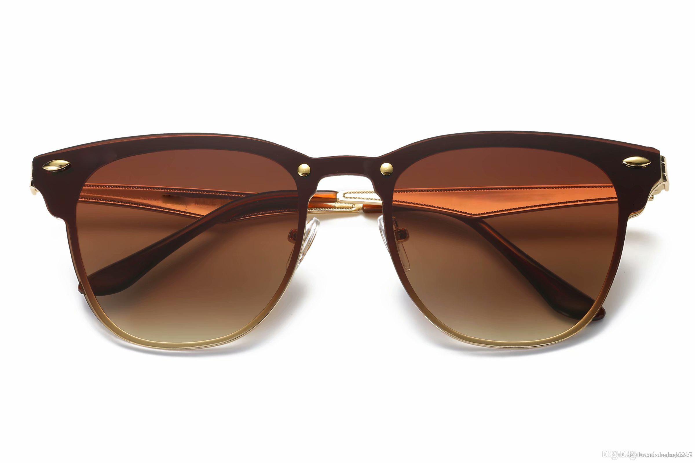 Горячие продажи дизайнерского бренда очки Мастер мужчин женщин солнцезащитные очки Открытый Sunglass Мировые бренды класса люкс с 1шт качества логотип коробки случай топ