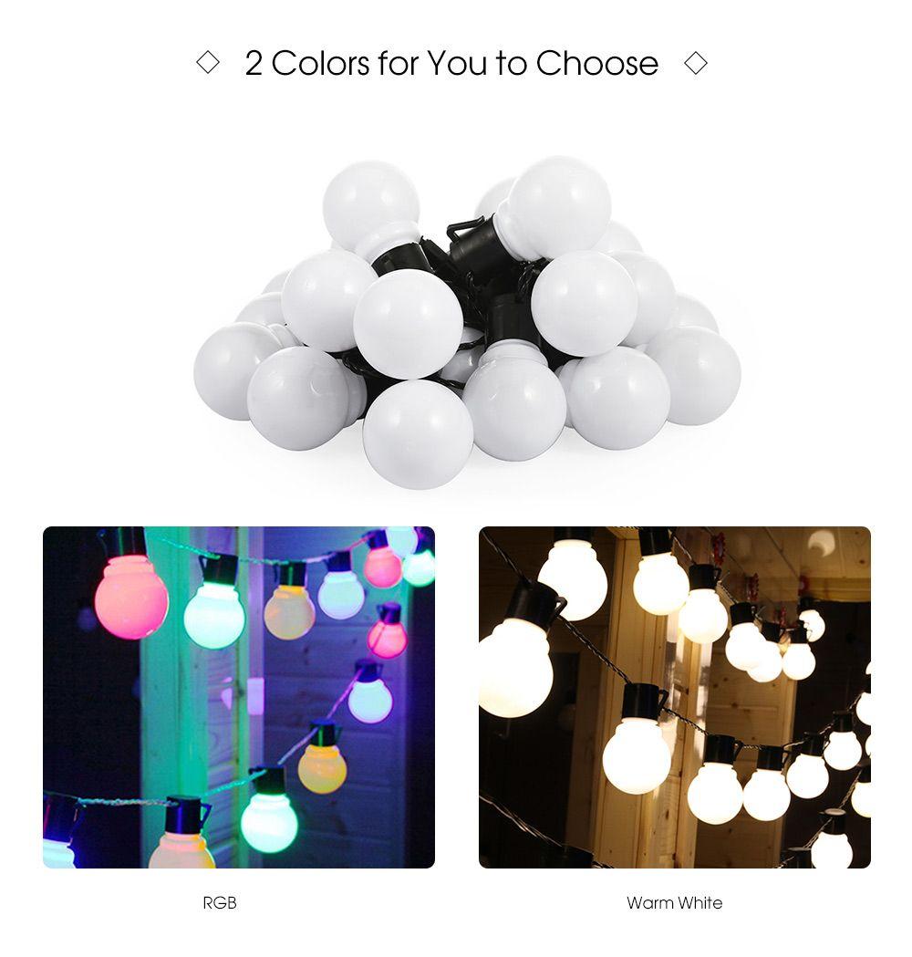 Solaire DEL String lumières Chaînes Ampoules Sapin de Noël Chaîne Extérieur Jardin Fête