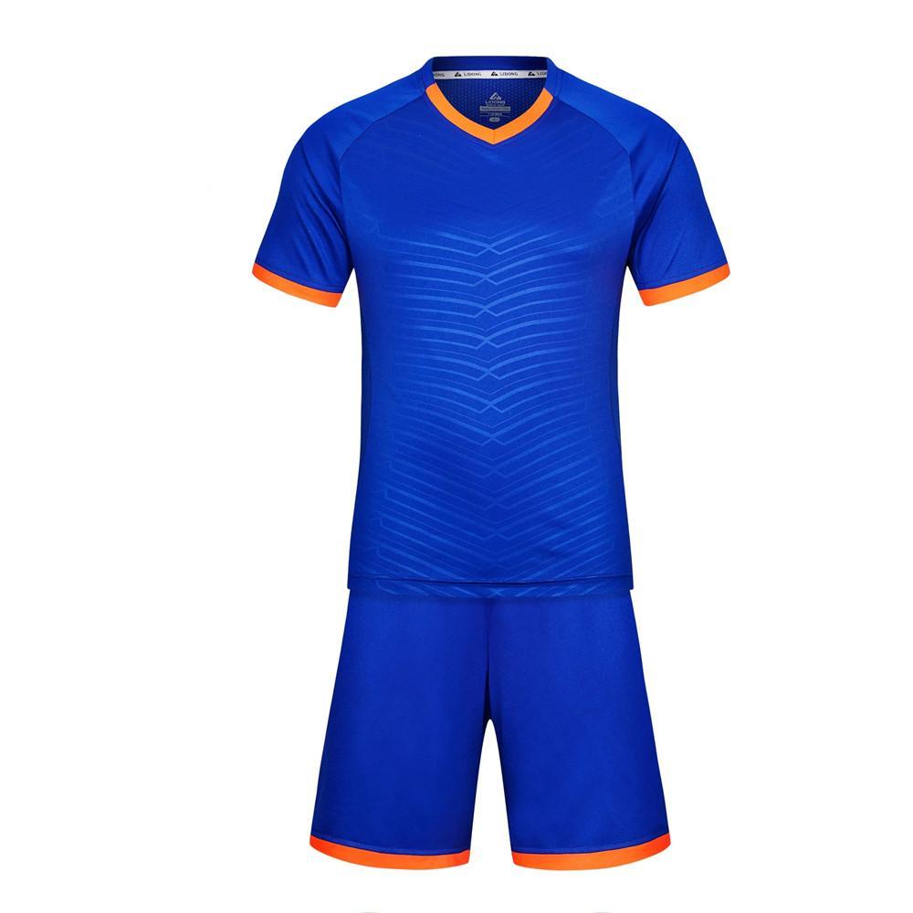 جدي جديد أطقم كرة القدم بنين لكرة القدم الزي الرسمي مجموعات جيرسي الدعاوى فوتبول التدريب تنفس البوليستر بأكمام قصيرة قمصان LL15
