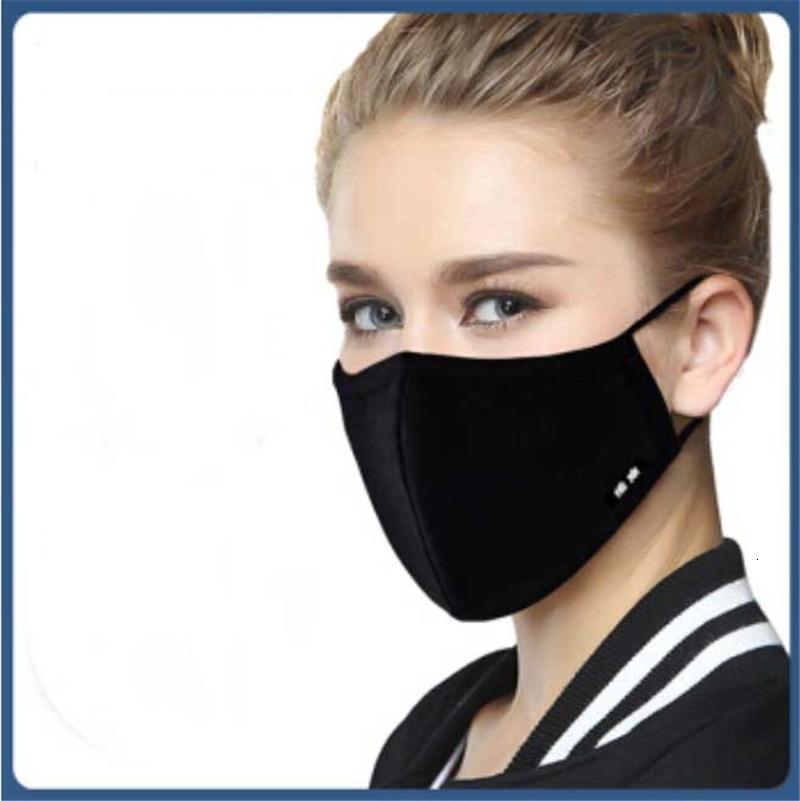 2020 In azione !!! Antipolvere FaceMask respirazione valvola lavabile riutilizzabile Maschera Wecan anti-polvere Fog PM2.5 maschere Zza1871