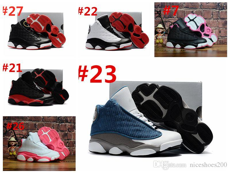 compre nike air jordan retro 13s zapatos de baloncesto chico