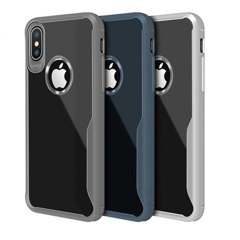 Für iphone 12 mini 11 PRO XR XS MAX X 6S 7 8 Plus-Handyfall klare transparente Gehäuseabdeckung Handy TPU für Samsung S10 Note 10 PLUS