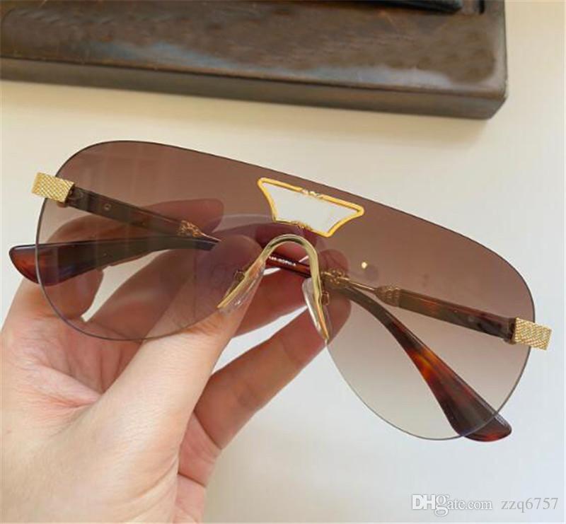 Nuevos Hombres Gafas de sol Dazzling Soph-I Pilot Case UV400 Colores de estilo Diseño sin marco con gafas de verano Gafas Xjmjs