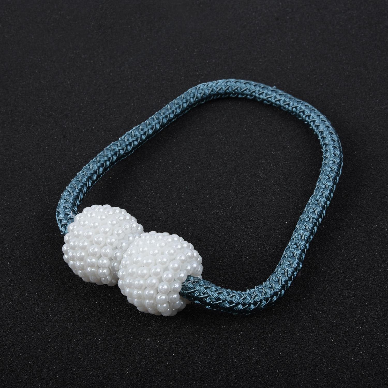 Boule Perle magnétique clip Rideau décoration sur une fleur embrasses Pinces Buckles