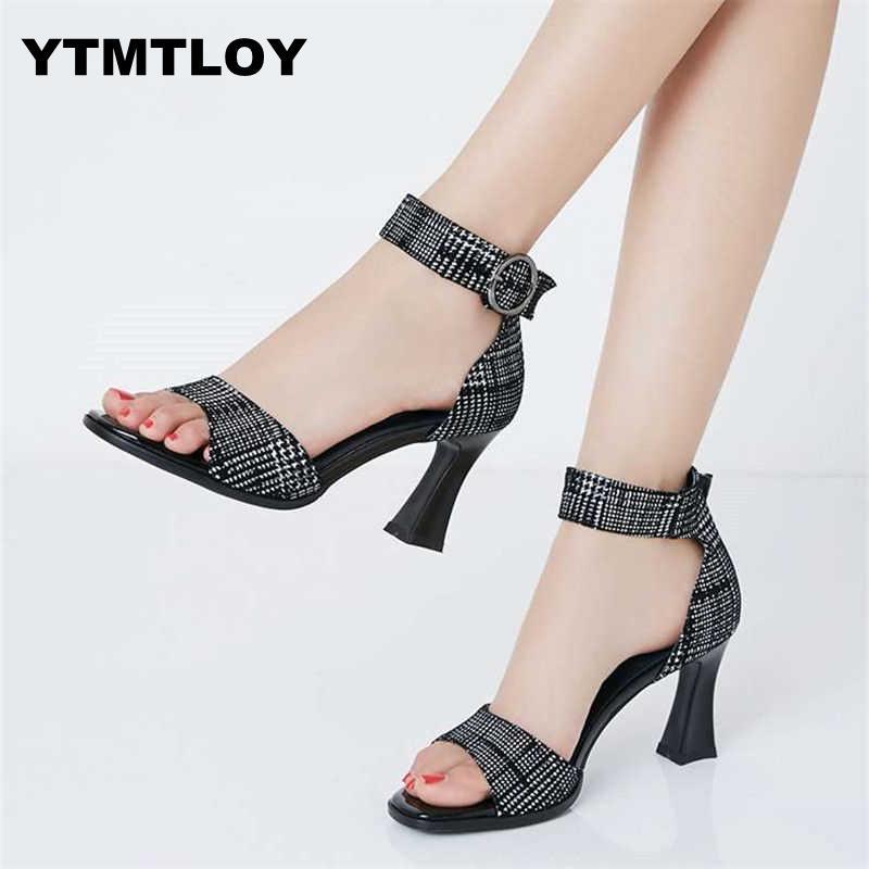 Femmes Mode Doux Été Slip Sur Chaussures Dame Casual Rue Bureau Pompes Talons Hauts Plateforme Peep Toe Coins Dames Chaussures