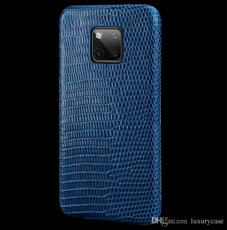 Per Huawei Mate 20 Custodia posteriore autoadesivo moda di lusso colorato ultra-sottile originale custodia in vera pelle per Huawei Ascend Mate 20