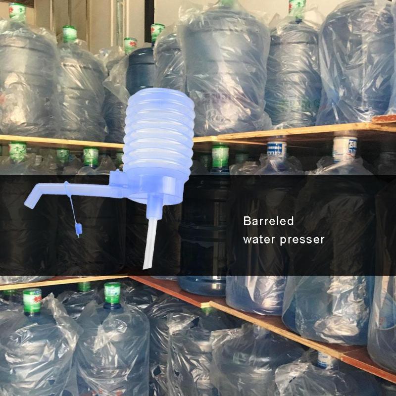Рука давления питьевой воды Бутылка Насос ручной Пластиковый Прочная защита окружающей среды Диспенсер для воды Кухонные принадлежности
