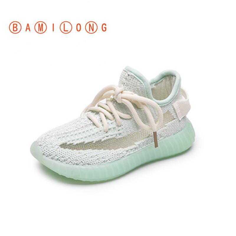 2020 Высокое Качество Осень Дышащая Сетка Обувь Дети Удобные Кроссовки Легкий Вес Спортивная Обувь Мальчики Девочки Повседневная K45