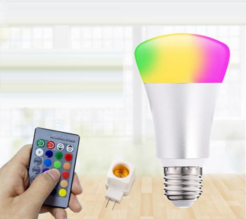 Новая светодиодная лампа Amazon Alexa Google Home Voice Smart Light Bulb совместим с аудио смазкой