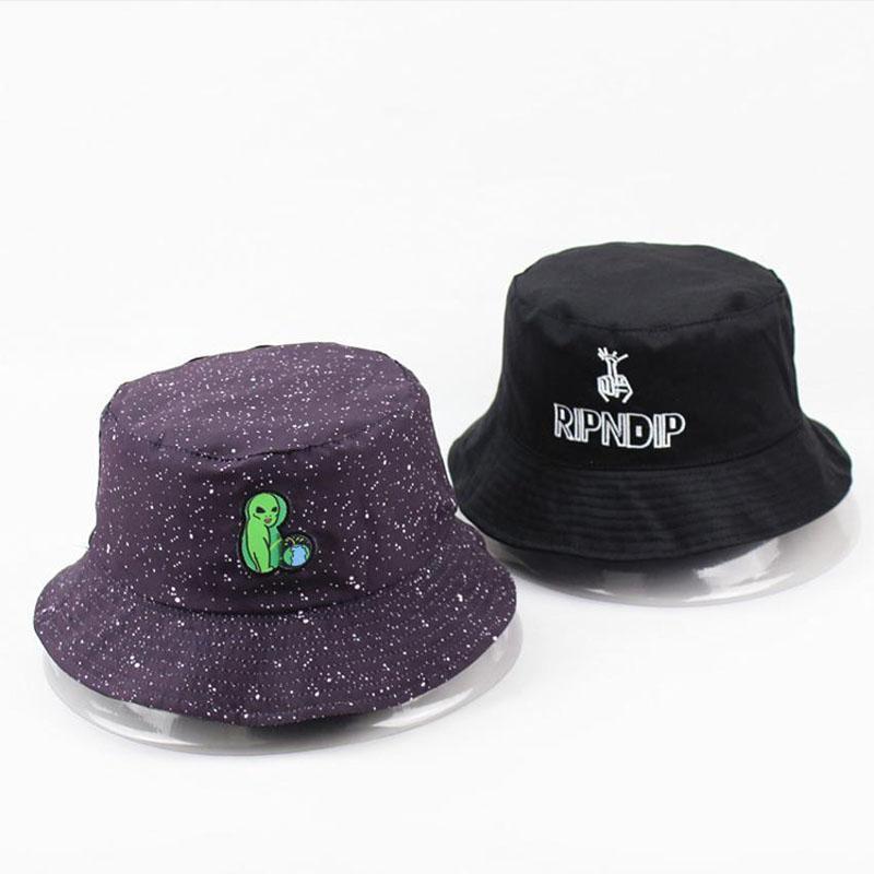 T-MAC الأسود طباعة نمط قبعة دلو للنساء رجال القطن لربيع وصيف طباعة الصياد القبعات قبعات واقية من الشمس عشاق قبعة الشمس شقة