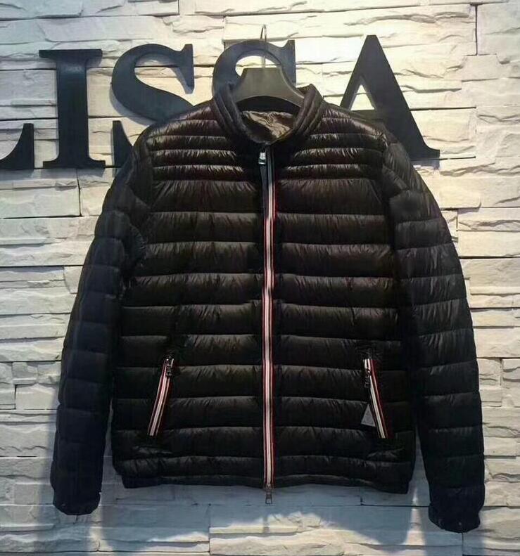 Modo di marca uomini inverno caldo Maya reale Bianco anatra Down Jacket Uomo sportivo all'aperto lucido opaco Giù cappotto uomo capispalla giacche parka
