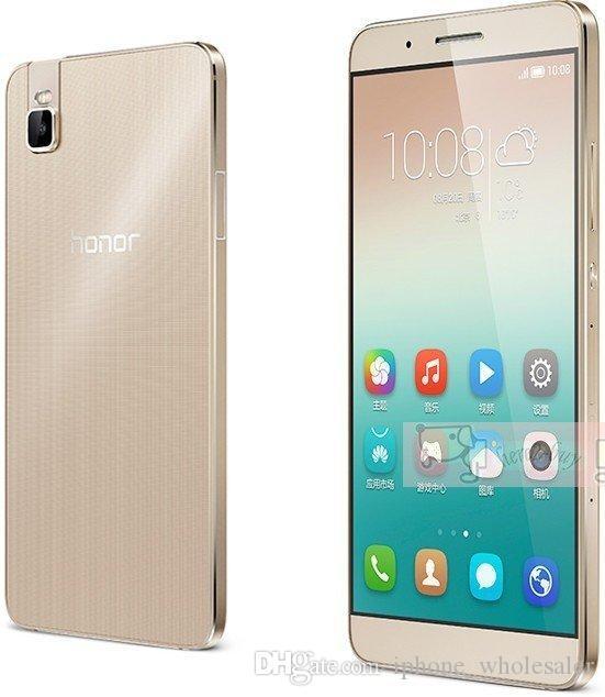"Orijinal Huawei Honor 7i 4G LTE Cep Telefonu 3 GB RAM 32GB ROM Snapdragon 616 Octa Çekirdek Android 5.2"" 13.0MP Parmak İzi Kimlik Akıllı Cep Telefonu"