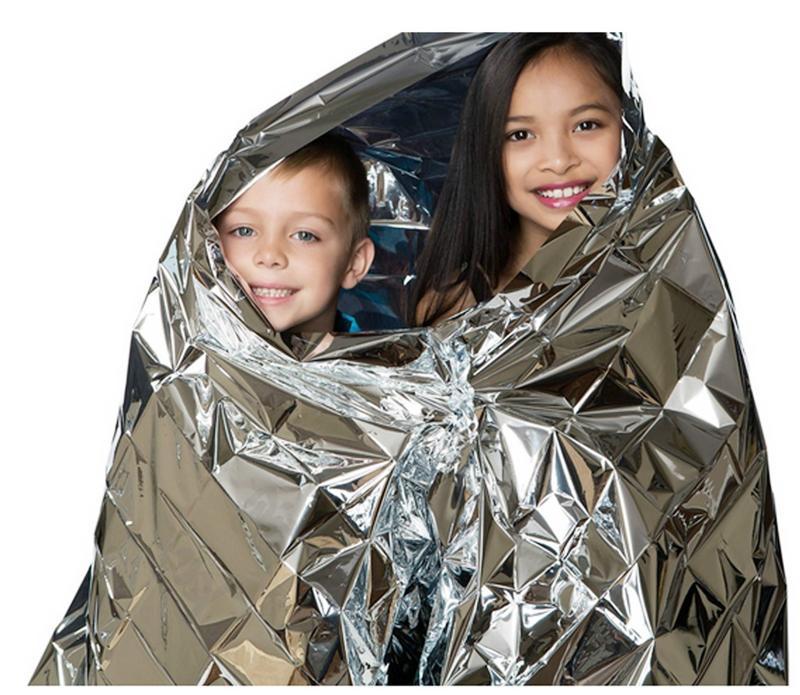 Aluminizer Emergency Blanket Insulation Blanket Waterproof Emergency Insulation Foil Thermal Blanket 210*130 210*140 210*160 Silver yy