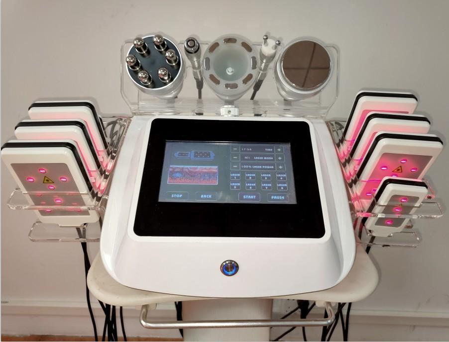 6 dans une machine à cavitation minceur LipoLaser machine de cavitation ultrasonique
