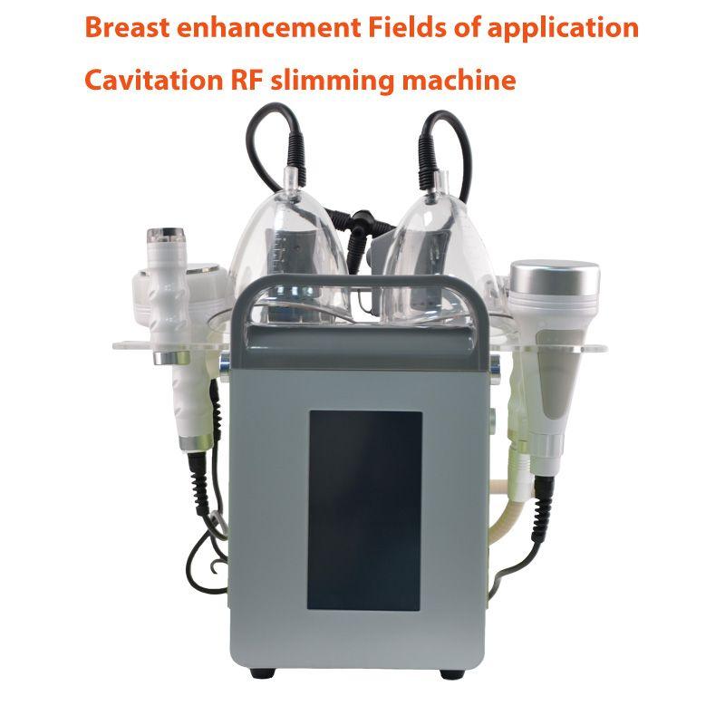 Hızlı Kargo yepyeni Vakum Terapi Masajı Vücut Şekillendirme göğüs takviyesi ultrasonik kavitasyon RF makine