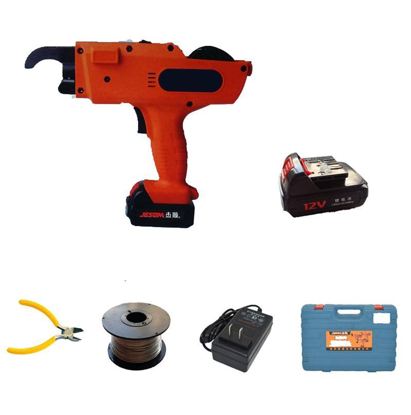 Nivel de mano de acero corrugado máquina vinculante máquina 1500mAh 3000mAh Rebar automático sin cuerda que ata el cable de la batería de litio