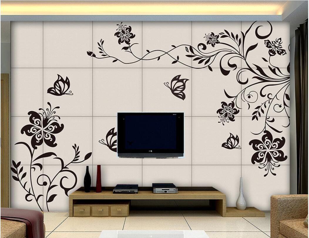 Compre Sala 3d De Papel Tapiz Personalizado Foto Mural Europeo