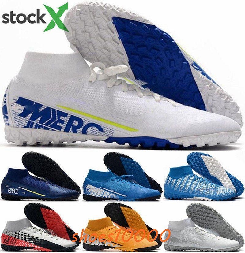 Mercurial Superfly 7 Elite ronaldo VII Mens TF IC 46 eur Chaussures chaussures de football crampons de football taille Hommes nous CR7 12 Nouveau Arrivée 2020 Running