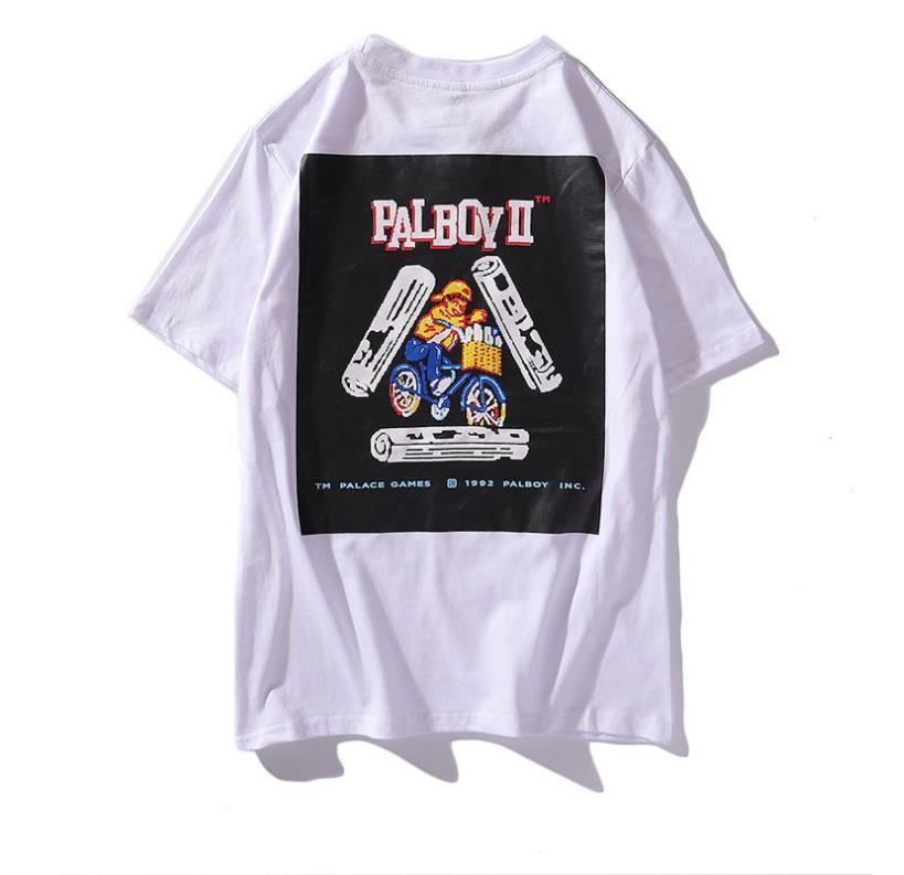 Mens designer t shirts brand fashion palaces t shirt fashion high quality men tshirts street hip hop T shirts casual breathable man shirt