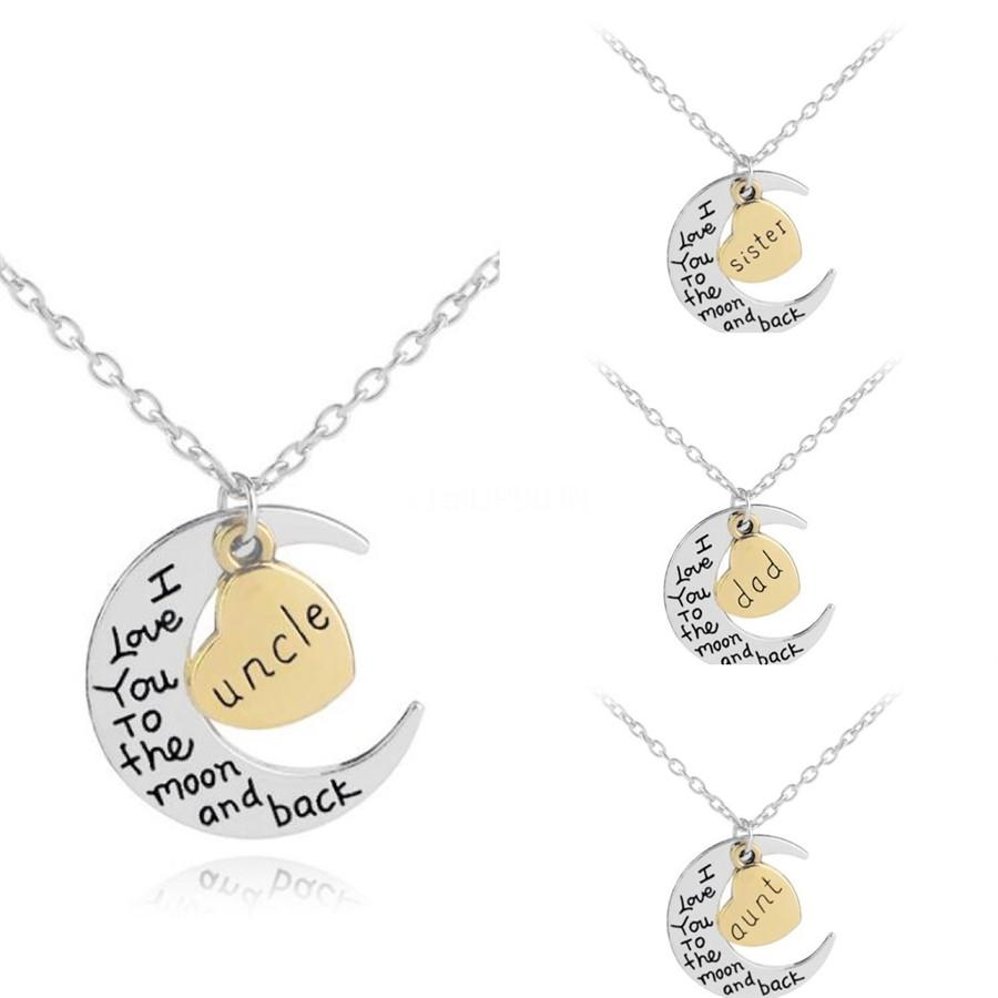 Custom No Favors Letter Pendant Necklace Hip Hop Full Iced Out Cubic Zirconia Men Women Gold Sliver Cz Stone Charm Gift#150