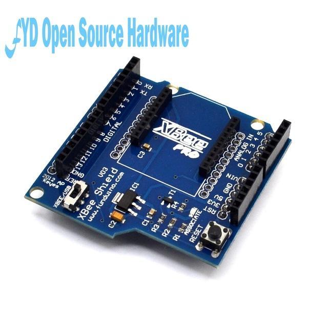 Circuitos Integrados pilha Bluetooth escudo XBee V03 módulo sem fio Controle Para XBee ZigBee Conselho para arduino Serial Adapter Module FT232R ...