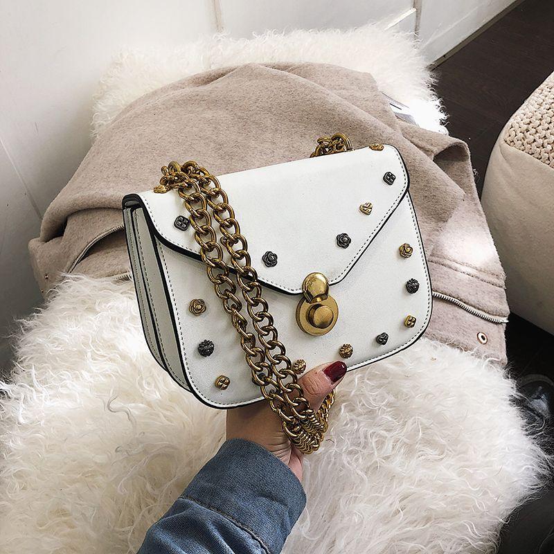 2019 Messenger çanta zincir çanta omuz bagwomen çanta çantalar deri ünlü tasarımcı moda omuz cüzdan omuz çantası damai / 2