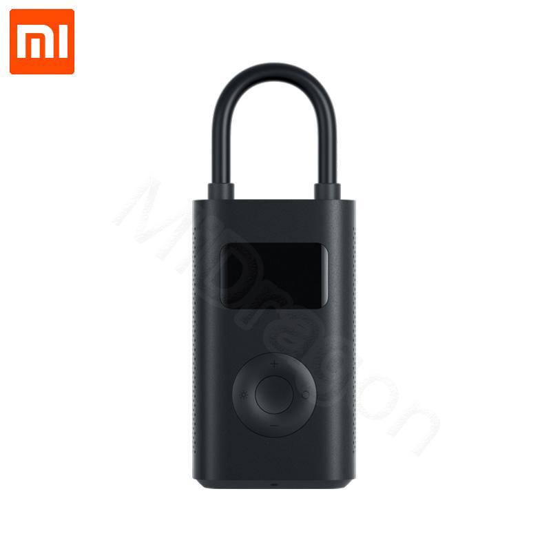 tesoro Xiaomi Mijia inflable portátil de presión digital inteligente Detección de neumático eléctrico de la bomba para inflar con aire para motocicleta de la bici del coche