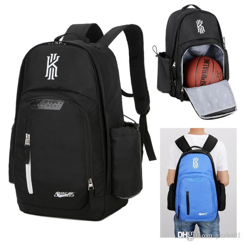 كيري إيرفينغ حزم حقيبة الظهر للرجال للنساء حقائب كبيرة حقائب السفر قدرة أكياس الأحذية شحن مجاني كرة السلة الظهر