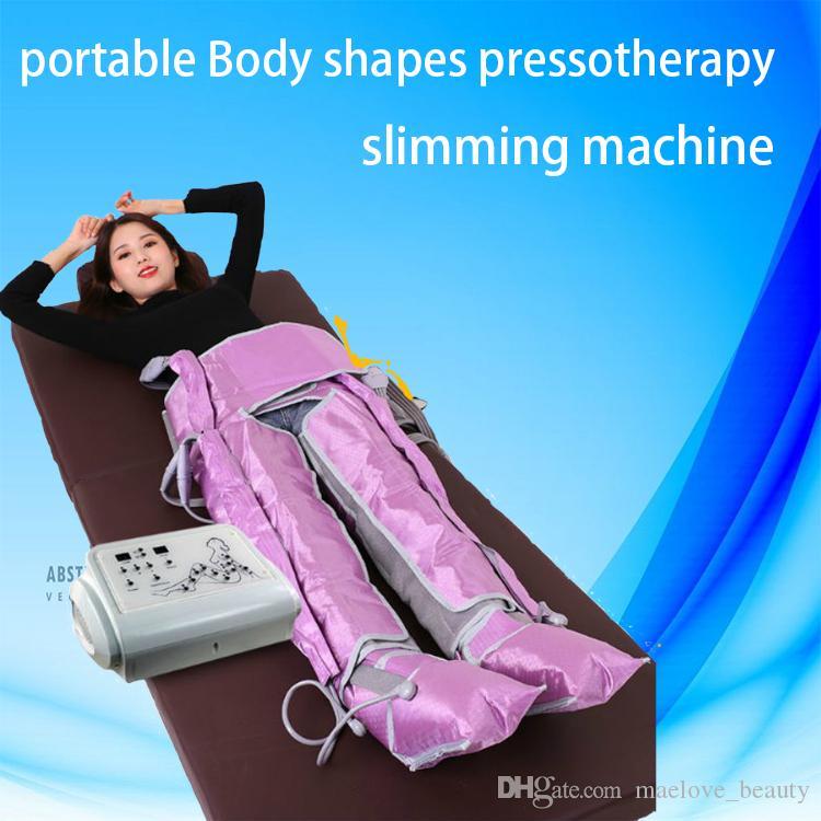 El cuerpo portátil 2 0 1 9 moldea la presoterapia que adelgaza la máquina, desintoxica la presoterapia infrarroja, la presoterapia, la máquina de drenaje linfático
