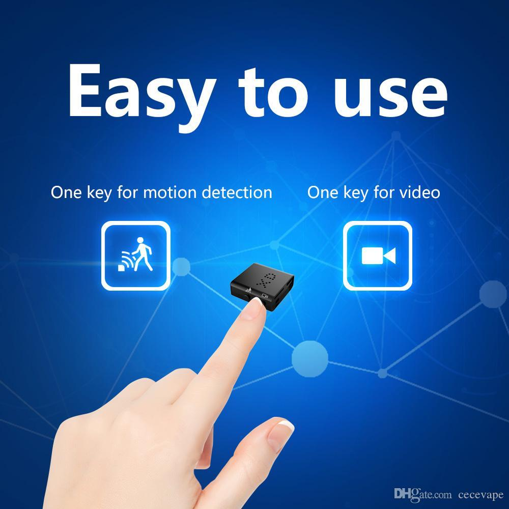 XD IR-CUT Mini Camera Smallest 1080P Full HD Camcorder Infrared Night Vision Micro Cam Motion Detection DVC
