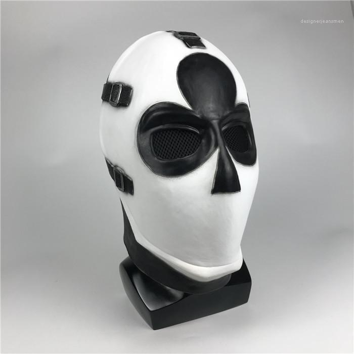 Game Gift Ball Vestido Unisex Props Halloween Poker Face Mask COSPLAY Latex Material Party Outdoor