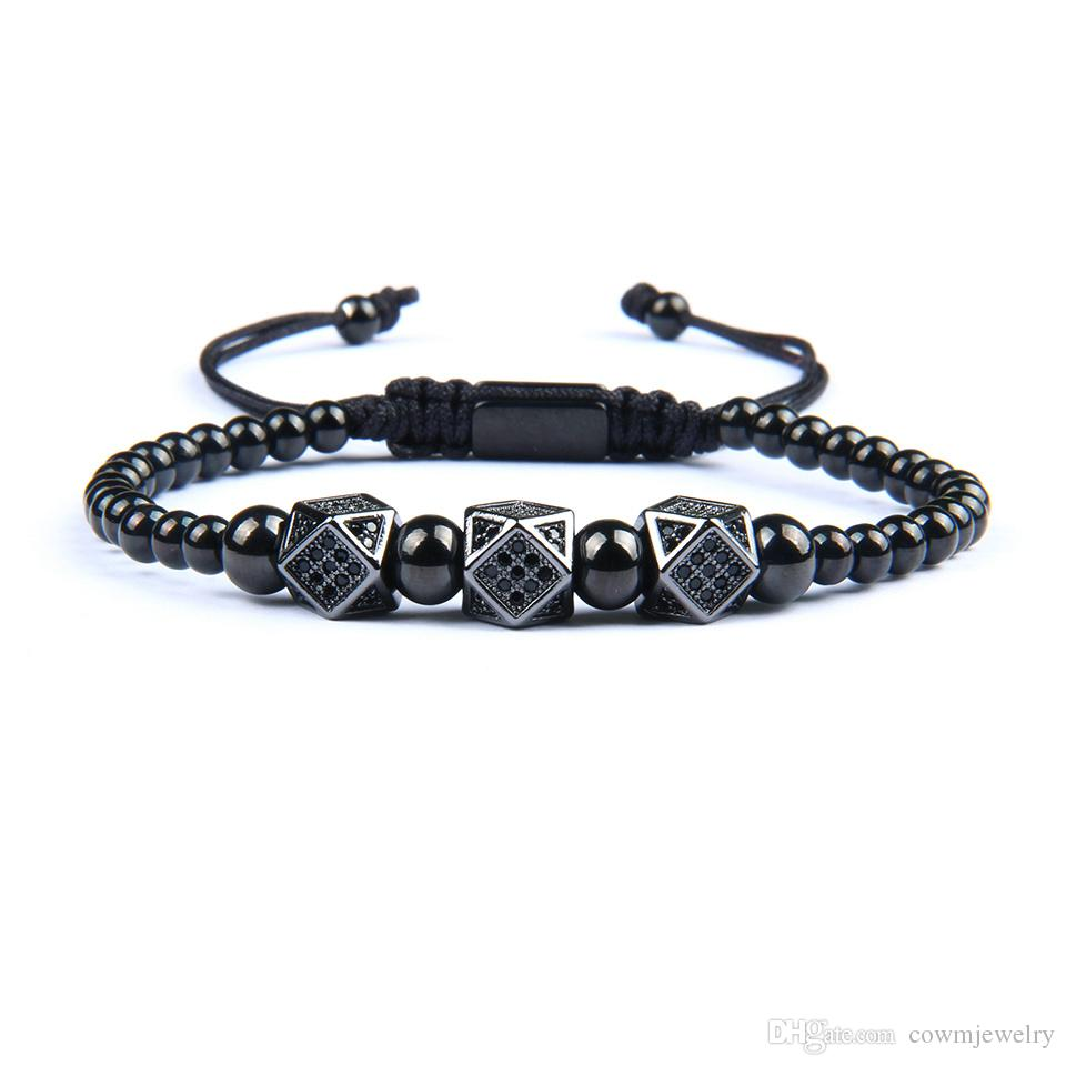 20 Style New Crown Bracelet Men And Women Macrame Stainless Steel Bracelets & Bangles Adjustable Hip Hop Gold Accessories Gift