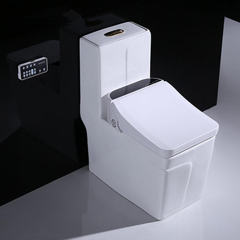 quadrato copriwater bidet intelligente elettronico tazze da wc riscaldamento sedili pulito asciutto intelligente coperchio WC per bagno