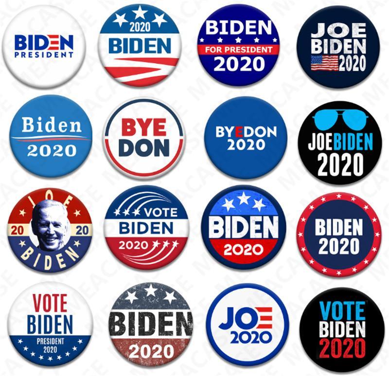ABD Başkanlık Seçim Biden Rozet Teneke Seçim Rozetler Biden Oy Broş Pin Parti Hediyeleri D7204 Yana 2020 18 Stiller Joe Biden Broş