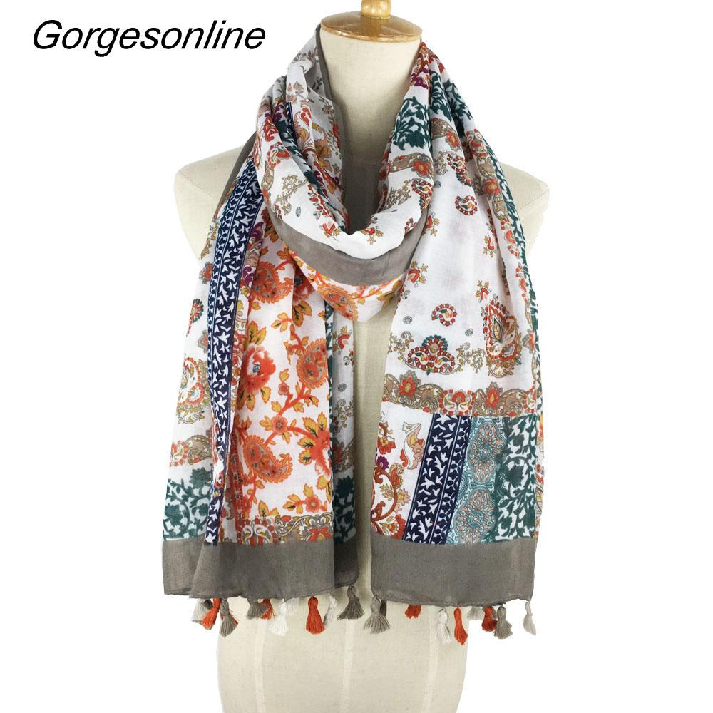 New design nice cotton satin hijab ladies soft long simple tassel muslim scarf shawl fro womens more than 20 colors wholesale