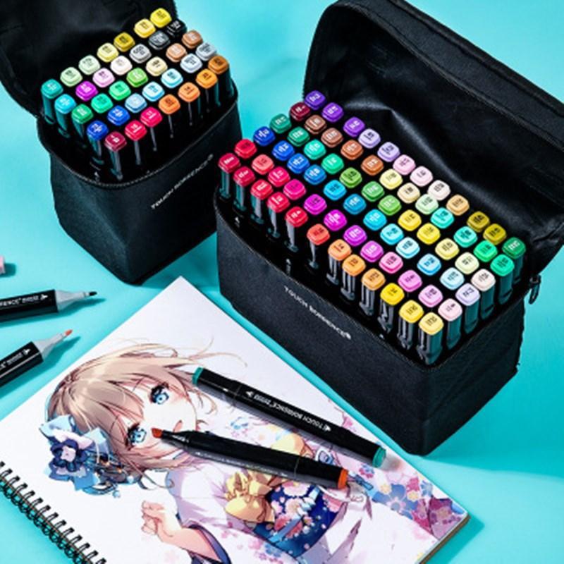 36/40/60/80/168 цвет кисти маркер набор маркер ручка двойной голова эскиз маркеры комплект ettering спиртовые фломастеры каллиграфии