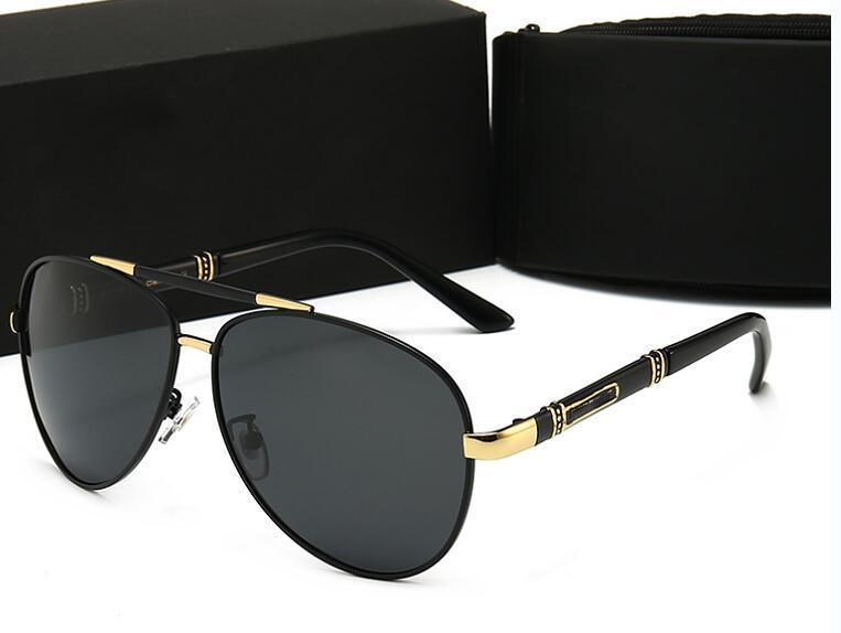 2020 nuovi occhiali da sole di lusso occhiali da sole firmati Glass per la Mens adumbral occhiali UV400 con la scatola marca di alta qualità P 4 colori 8865