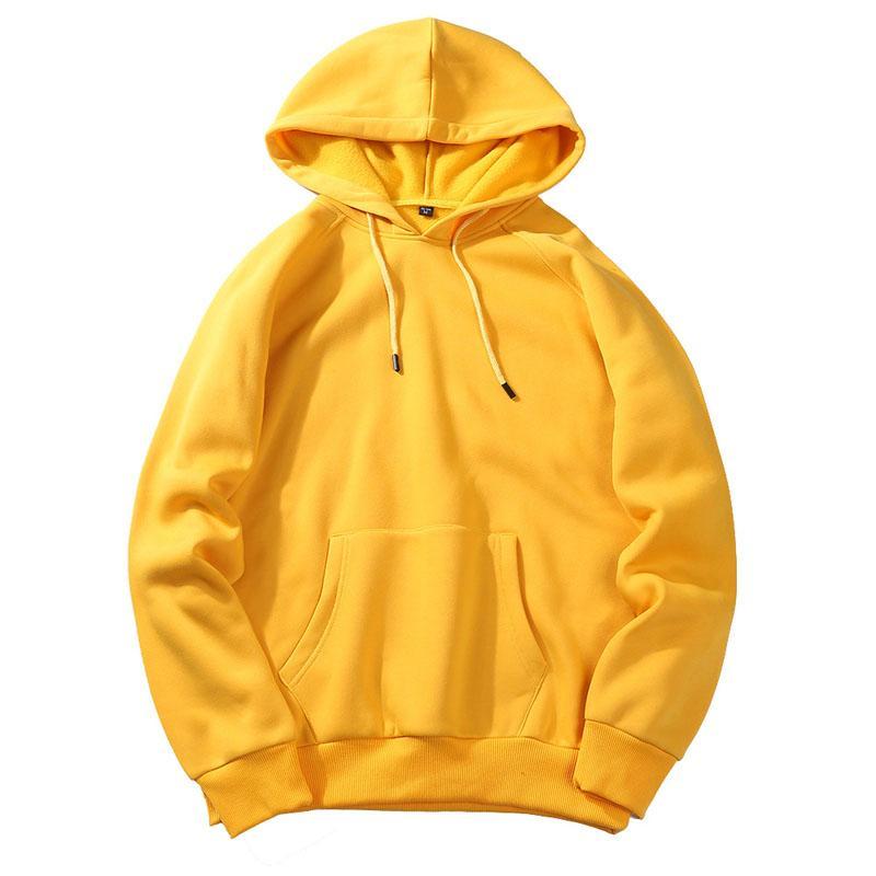 2018 New brand Hoodie Streetwear Hip Hop red blue yellow black Pullover Hoodies Mens Hoodies and Sweatshirts Size S-XXL
