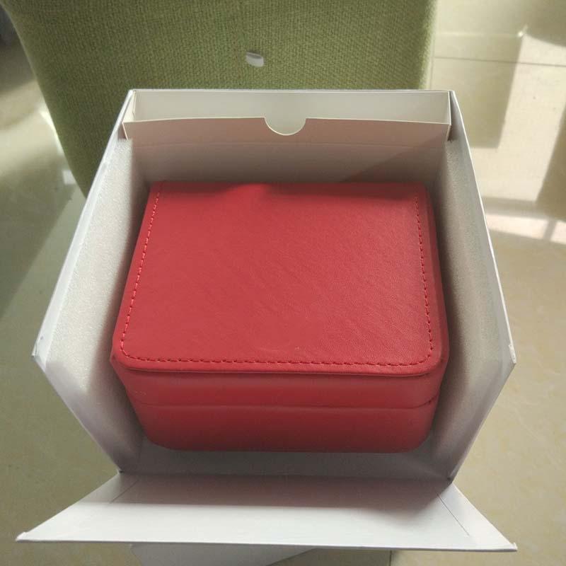 caixas de presente relógio de alta qualidade de luxo Mens pulso Original Box Papel Inner Outer Booklet Cartão Inman Relógios